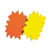 Popisovateľný farebný kartón ježko 24x32, mix žltá-oranžová