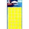 Etikety 15 mm žlté, maloobch.balenie