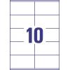 Etikety univerzálne 105 x 57 mm Avery A4, 100 listov