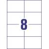 Etikety univerzálne 105 x 74 mm Avery A4, 100 listov