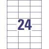Etikety univerzálne 70 x 37 mm Avery A4, 100 listov