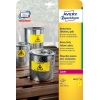 Etikety Avery 210x297 mm, polyesterové žlté