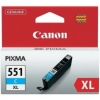 Atrament Canon CLI-551C XL cyan MG5450/6350, iP7250