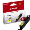 Atrament Canon CLI-551Y XL yellow  MG5450/6350, iP7250