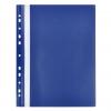 Rýchloviazač PP s eurodierovaním matný modrý (EC412110)