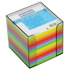 Blok kocka nelep 90x90x90mm neónových farieb dymová škatuľka