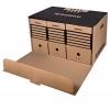 Archívna škatuľa s predným otváraním hnedá
