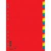 Plastový rozraďovač číselný farebný 1-31(7736095PL-99)