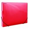 Plastový box Donau priehľadný červený