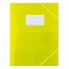 Obal z PP polopriehľadný žltý