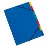 Triediace zložky DONAU modré 7 oddielov