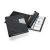 Vizitkár A4 4-krúžkový 400 vizitiek VISIFIX PRO čierny