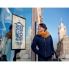 Samolepiaci Duraframe Poster Sun 70x100 cm, strieborný