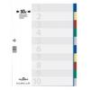 Plastový rozraďovač farebný 10dielny maxi