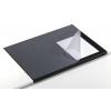 Podložka s priehľadnou fóliou a ochr. rohu 650x520mm čierna