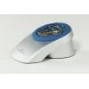 Stojan na kancelárske spony VEGAS strieborný/modrý