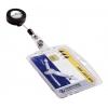 Visačka na plastovú kartu s výsuvným kotúčom 10 ks