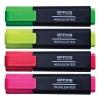 Zvýrazňovač Office Products sada 4 farby