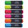 Zvýrazňovač Office Products sada 6 farieb