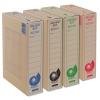 Archívny box EMBA TYPI/75/ECO, červený