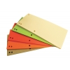 Kartónový rozraďovač úzky Office Products mix farieb