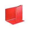 Zakladač 4-krúžkový prezentačný 3cm červený