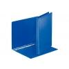 Zakladač 4-krúžkový prezentačný 3cm modrý
