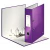 Pákový zakladač Leitz 180° WOW 8 cm perleťovo purpurový