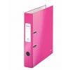 Pákový zakladač Leitz 180° WOW 5cm ružový