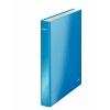 Zakladač 2-krúžkový WOW metalický modrý