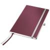 Zápisník A5 Leitz Style granátová červená