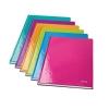 Záznamová kniha linajkovaná A5 80 listov Leitz WOW purpurová