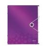 Triediaca kniha 12 oddielov WOW purpurová