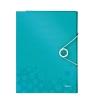 Triediaca kniha 12 odielov ľadovo modrá WOW