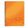 Poznámkový blok WOW A5  linajkový oranžový