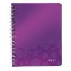 Poznámkový blok WOW A5  linajkový purpurová