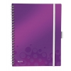 Organizačný blok linajkový A4 WOW purpurový