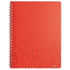 Blok na písanie Leitz Urban Chic A4 linajkový, červený