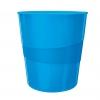 Odpadkový kôš 15l Leitz WOW modrý