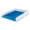 Kancelársky odkladač Leitz WOW dvojfarebný, metalická modrá