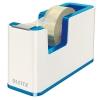Dispenzor s páskou Leitz WOW dvojfarebný, metalická modrá