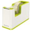 Dispenzor s páskou Leitz WOW dvojfarebný, metalická zelená