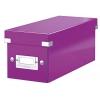 Škatuľa na CD Click & Store purpurová