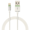 Kábel Leitz Complete Lightning na USB, 1m, biely