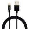 Kábel Leitz Complete Lightning na USB, 1m, čierny