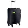 Cestovný kufor na 4 kolieskach Leitz Complete, čierna