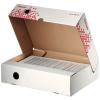 Archívny box Esselte Speedbox  biely so sklápacím vekom