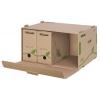 Archívna škatuľa s predným otváraním Esselte ECO hnedá