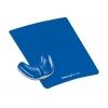 Podložka pod myš s opierkou dlane Health-V modrá
