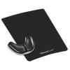 Podložka pod myš s opierkou dlane Health-V čierna